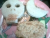 TERRORIFICOS SANDWICHS  DE ATUN Y PAVO (especial niños para halloween)
