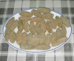 Croquetas de espinacas con pollo