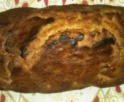 Plun-Cake de platano y nueces