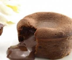 Coulant o Volcán de chocolate