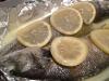 Lubina exprés al limón