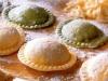 Ravioli con ricotta y jamón