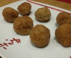 Croquetas de shiitake sin harina (vegana)