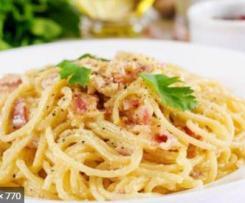 Espaguetti Carbonara Express