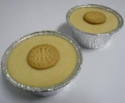 Natillas ligeras con galletas María minis (Receta Ligera)