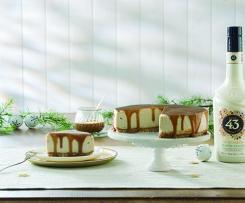 Pastel de queso vegano con Licor 43 Horchata