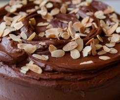 Receta Bizcocho de Almendras y Chocolate