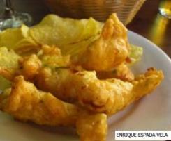 Tortillitas de bacalao (tapa sevillana de Semana Santa)