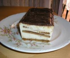 TARTA DE CHOCOLATE BLANCO Y NOCILLA