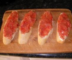 tomate para hacer pan con tomate nueva hecha con thr