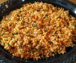 Ensalada de zanahoria y coco