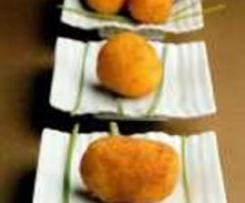 Clon de Croquetas de jamón con bechamel rápida