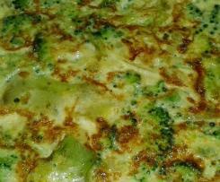 Tortilla de brocoli