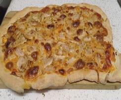 Masa de pizza esponjosa y crujiente