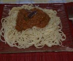 Espaguetis a la Carmen