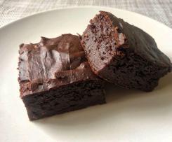 Brownie de boniato y pera sin azúcar