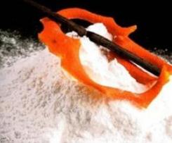 Azúcar glas y azúcar glas aromatizada