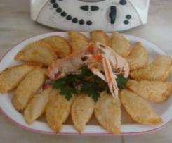 Empanadillas de marisco y calabacín