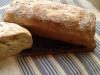 Pan de molde con cerveza a la albahaca