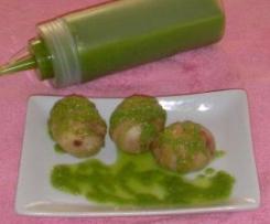 Mojo verde con aguacate