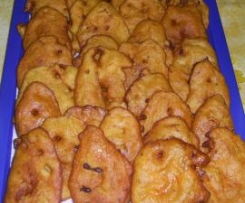 TORTITAS DE CALABAZA (TIPICA CANARIA)
