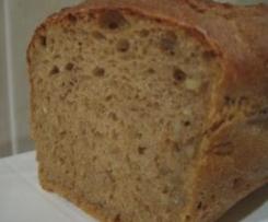 pan integral de cereales para desayuno