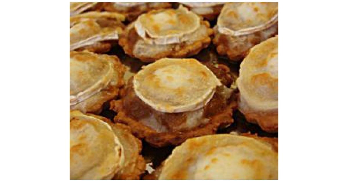 Tartaletas de cebolla caramelizada con queso de cabra por anna hallado la receta de thermomix - Beneficios queso de cabra ...