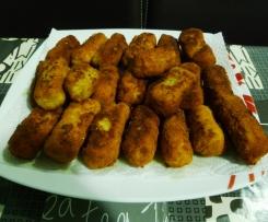 Croquetas de jamón (sin gluten y sin lactosa)