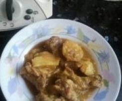 Clon de Patatas guisadas con carne de potro