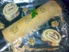brazo de gitano de jamon de york y roquefort (o queso de lonchas al gusto)