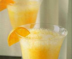Cóctel de cava y mandarinas