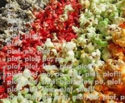 Palomitas de maíz de colores