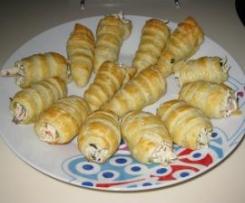 cornetes y canutillos salados