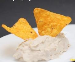 Dip de queso y atún