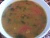 Sopa india de lentejas rojas (Masoor Dal)