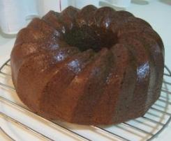 BIZCOCHO DE CERVEZA NEGRA (STOUT BUNDT CAKE)