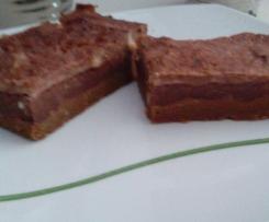 Tarta de nueces y chocolate (sin azucar)