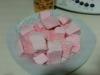 marshmallows en EE.UU.( esponjitas rosas)