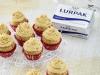 Minicupcakes de turrón Jijon con Lurpak ®