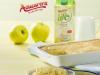 Compota de manzana con cobertura de bizcocho con Azucarera ® Life