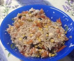 Ensalada fresca de arroz