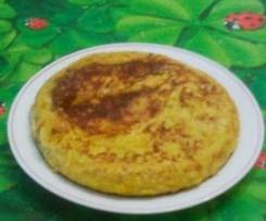 TORTILLA DE VERDURAS (vale para las dietas)