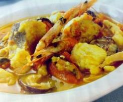 Zarzuela de marisco y pescado