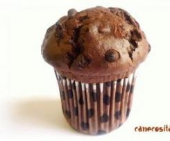 """Clon de Muffins de chocolate (estilo """"Starbucks"""")"""