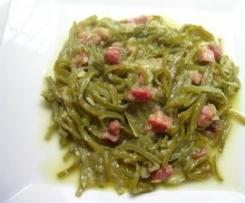 Judias verdes con jamón