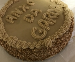 tarta de moka personalizada