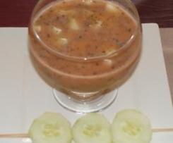 Gazpacho andaluz con toque de menta