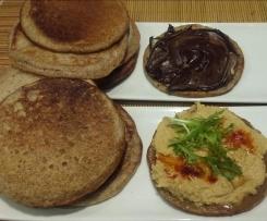 Tortitas de masa madre