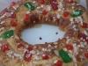 Roscón de Reyes relleno de crema de trufa