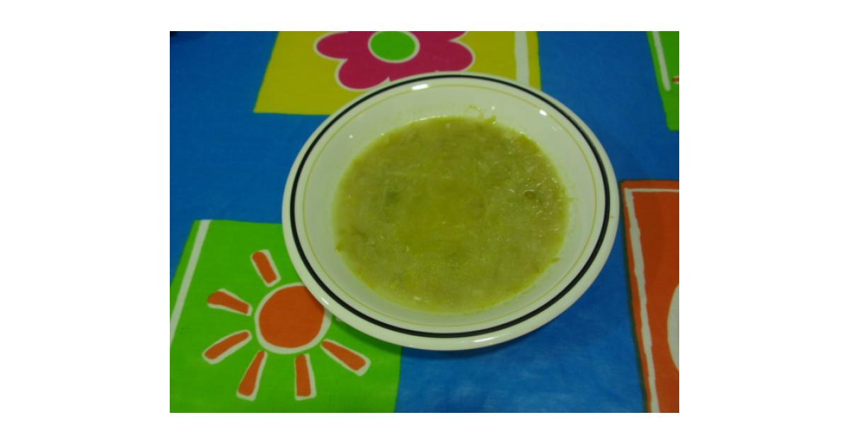 sopa depurativa de puerros por Angela Rivera. La receta de